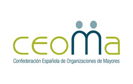 Logotipo Confederación Española de Organizaciones de Mayores (CEOMA)
