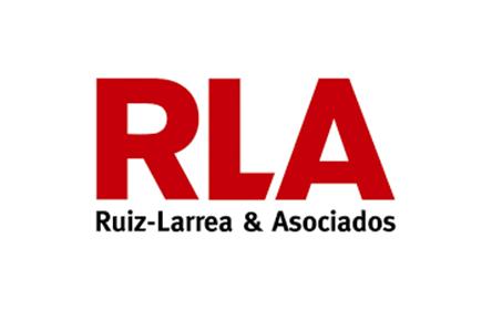 Logotipo Ruiz-Larrea y Asociados