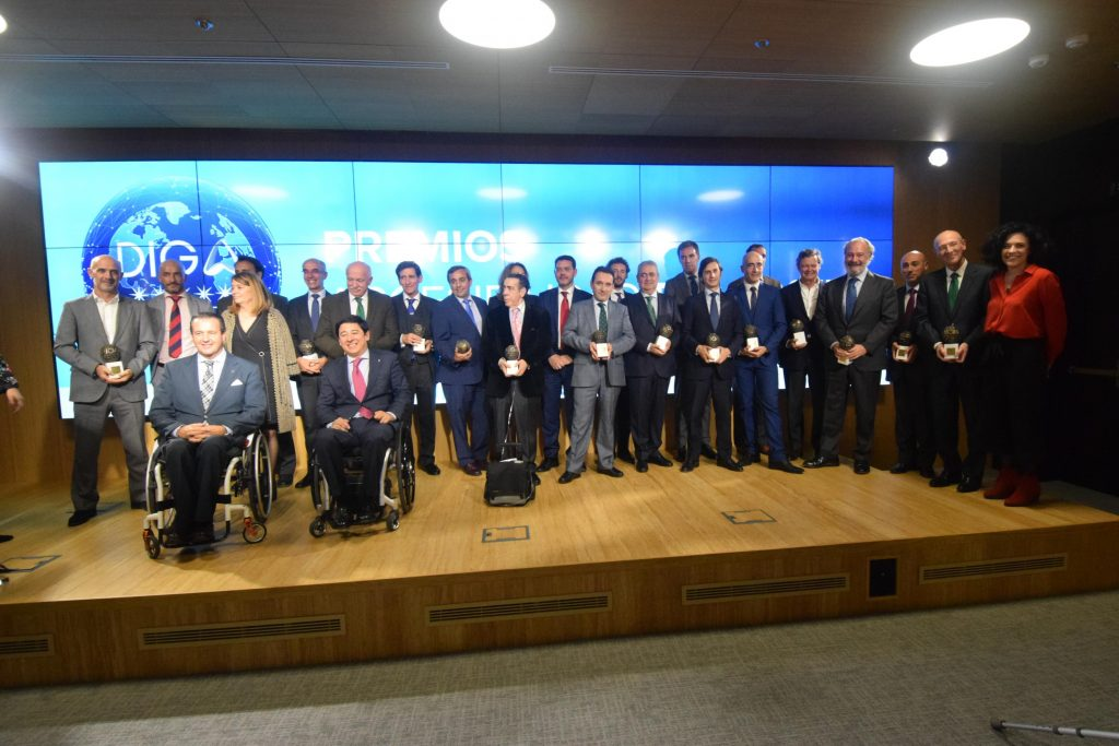 Foto de los premiados en la edición 2018