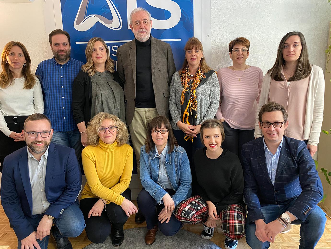 Foto del equipo de la Fundación